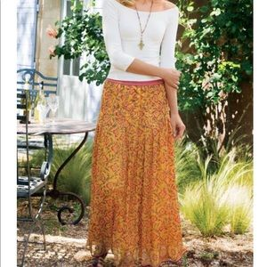 Soft Surroundings- Spicemarket Maxi Skirt